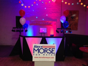 Mayor Alex Morse Victory Party